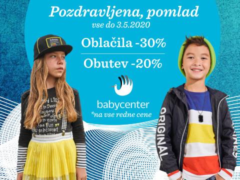 Spletna akcija oblačil in obutve - Baby Center - Akcije in ...